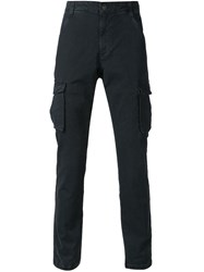 Ag Jeans 'Voyager' Cargo Trousers Blue