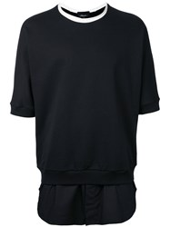 3.1 Phillip Lim Longline T Shirt Black