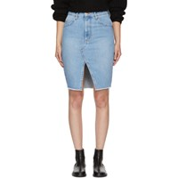 Etoile Isabel Marant Blue Denim Chadow Skirt