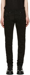 Diesel Black Gold Distressed Type 253 Jeans