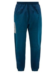 Aries Ombre Dyed Technical Track Pants Blue