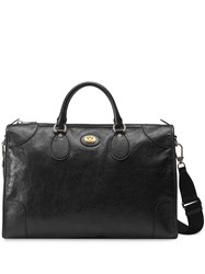 Gucci Medium Soft Leather Duffle Black