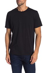 7 For All Mankind Pima Graphic Tee Black