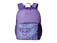 Vera Bradley Large Color Block Backpack Lilac Tapestry Backpack Bags Purple