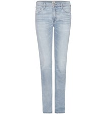 Citizens Of Humanity Mytheresa.Com Exclusive Agnes Mid Rise Slim Straight Jeans Blue