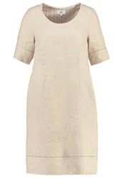 Noa Noa Summer Dress Silver Cloud Off White