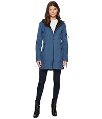 Ilse Jacobsen 3 4 Length Coat Blue Rock Women's Coat