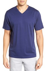 Men's Cutter And Buck 'Sida' Regular Fit V Neck T Shirt