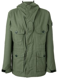 Rag And Bone Hooded Coat Green