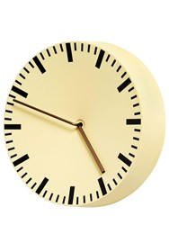 Hay Analog Clock Yellow