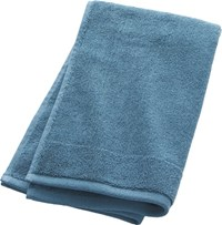 Cb2 Smith Blue Green Hand Towel