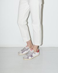 Golden Goose Superstar Sneaker White Red Violet