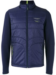 Hackett Zipped Jacket Blue