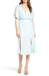 Leith Women's Surplice Midi Dress