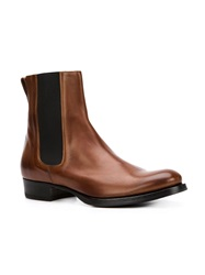 Buttero Elasticated Sides Boots Brown