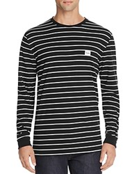 Barney Cools B.Original Stripe Long Sleeve Tee Black