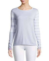 Lisa Todd Just My Stripe Sweater Plus Size Opal
