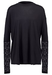 Tiger Of Sweden Jeans Open Long Sleeved Top Black