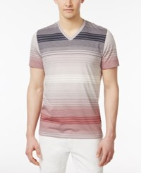 Inc International Concepts Men's Striped Cotton V Neck T Shirt Only At Macy's Grecian Theo