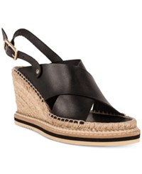 Andre Assous Emily Slingback Wedge Sandals Women's Shoes Black