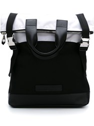 Mcq By Alexander Mcqueen Mcq Alexander Mcqueen 'Fold Tote' Backpack Black