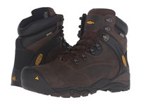 Keen Utility Louisville 6 Steel Toe Cascade Brown Men's Lace Up Boots