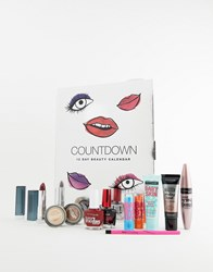 Maybelline Countdown Advent Calendar Christmas Giftset For Her Multi