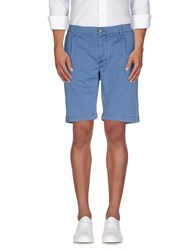 Heavy Project Trousers Bermuda Shorts Men Pastel Blue