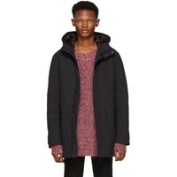 Mackage Black Faris Frost Touch Down Jacket
