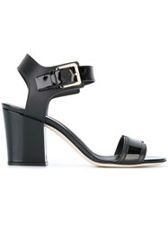 Sergio Rossi Ankle Height Sandals Black