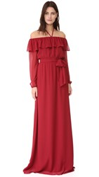 Joanna August Gina Long Sleeve Gown Ramble On Rose
