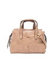 Lavand Tote Handbag Brown
