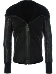 Isaac Sellam Experience Zipped Jacket Black