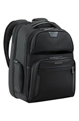 Briggs And Riley Men's 'Large' Ballistic Nylon Clamshell Backpack