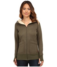 Burton Journey Fleece Olive Night Heather Women's Fleece Brown