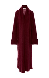 Tuinch Long Cashmere Cardigan Red