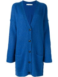 Golden Goose Deluxe Brand Oversized Cardigan Blue