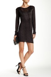 Edith A. Miller Scoopback Mini Dress Gray