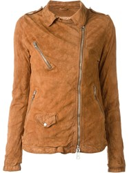Giorgio Brato Biker Jacket Brown