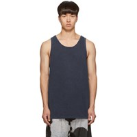 John Elliott Navy Rugby Tank Top