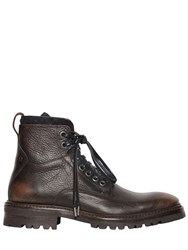 John Varvatos 33Mm Tumbled Vintage Leather Boots