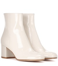 Gianvito Rossi Margaux Leather Boots White