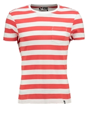 Your Turn Basic Tshirt Light Red White