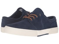 Polo Ralph Lauren Faxon Low Newport Navy Sport Suede Men's Lace Up Casual Shoes