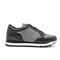 Dkny Women's Jamie Sport Lace Up Runner Trainers Black White
