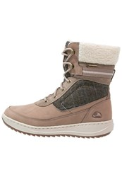 Viking Spark Ii Gtx Winter Boots Taupe Cement Grey
