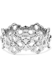 Buccellati Opera Eternelle 18 Karat White Gold Diamond Ring 52