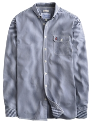 Joules Hewney Gingham Check Shirt Navy