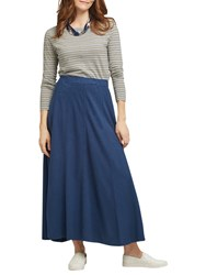 East Hemp Cotton Skirt Indigo