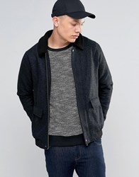 Another Influence Sherpa Collar Jacket Black